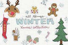 Vector Holiday Christmas Graphics