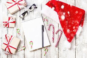 Christmas and New Year Items with
