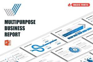 Multipurpose Business Report PPT