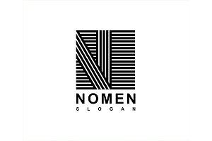 Logo Capital letter N
