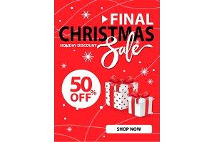 Christmas Final Sale Holiday