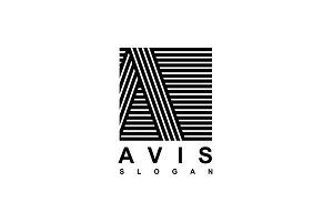 Logo Capital letter A
