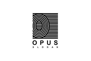Logo Capital letter O