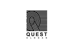 Logo Capital letter Q