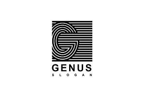 Logo Capital letter G