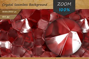 Crystal Seamless Background Texture.