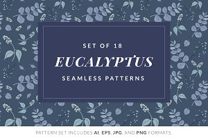Twilight Eucalyptus Pattern Pack