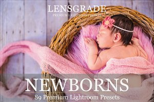 Lightroom Presets for Newborn & Baby