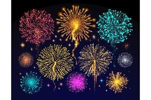 Fireworks Celebration of Holiday