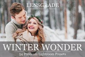 54 Winter Lightroom Presets