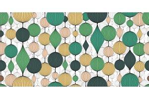 Seamless abstract wallpaper, pattern