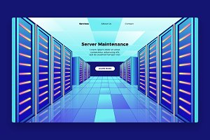 Maintaining - Banner & Landing Page
