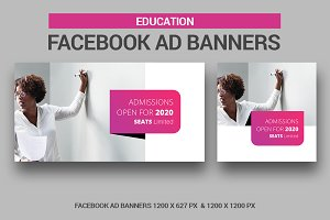 Education Facebook Ad Banners