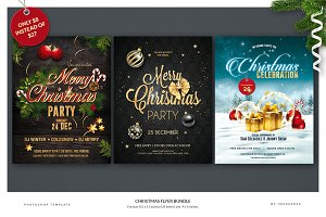 Christmas Flyer Bundle