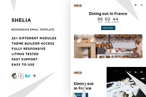 Shelia – Email template + Builder