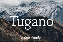 Tugano - complete font family