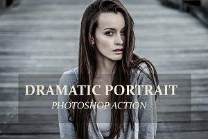 Dramatic Portrait - PS Action