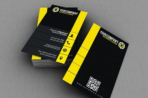 Modern Corporate Business Card V. 10