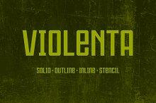 Violenta Font Family