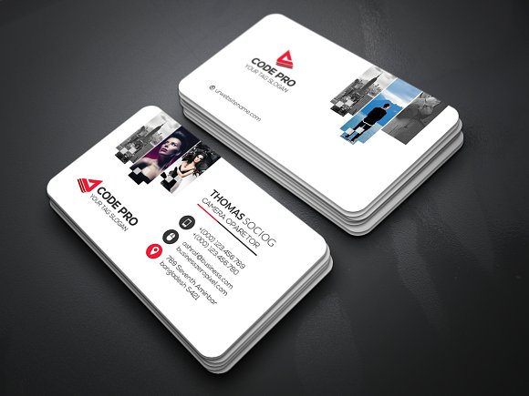 Photography Business Cards Business Card Templates Creative Market