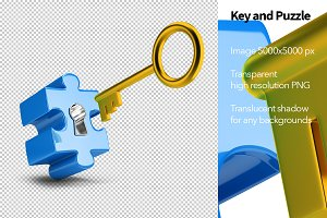 Key and Puzzle