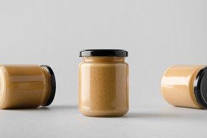 Peanut / Almond / Nut Butter Mockup