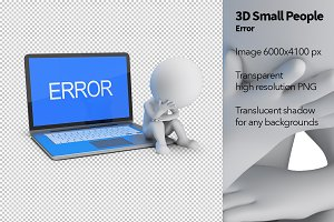 3D Small People - Error