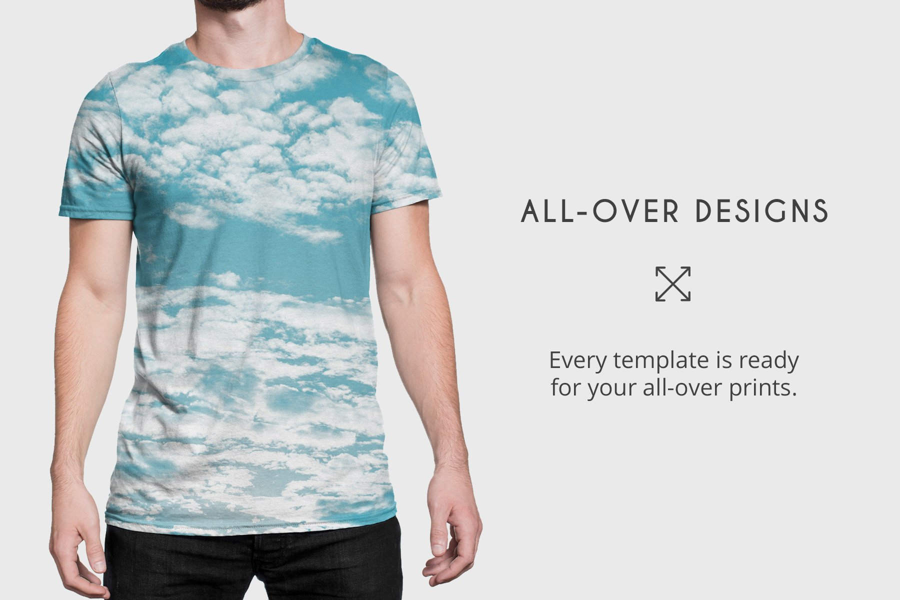 T-Shirt-Mockup-With-Model-www.mockuphill.com