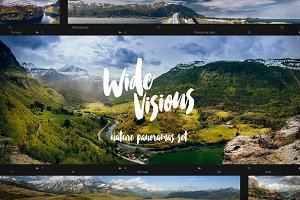 """Wide Visions"" - landscape panoramas"