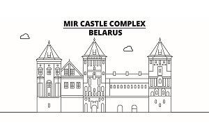 Belarus - Mir Castle Complex travel