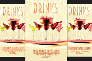 Drinks Party Flyer