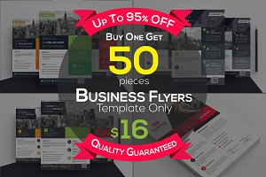 50 Flyers Bundle