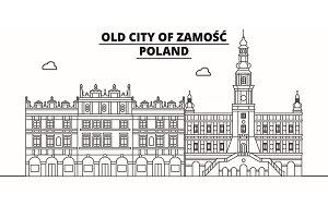 Poland - Zamosc travel famous