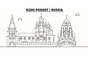 Russia - Kizhi Pogost travel famous