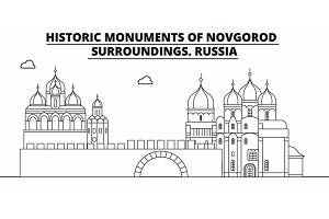 Russia - Novgorod travel famous