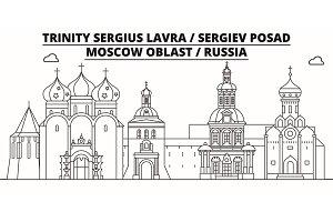 Russia - Sergiev Posad, Lavra travel