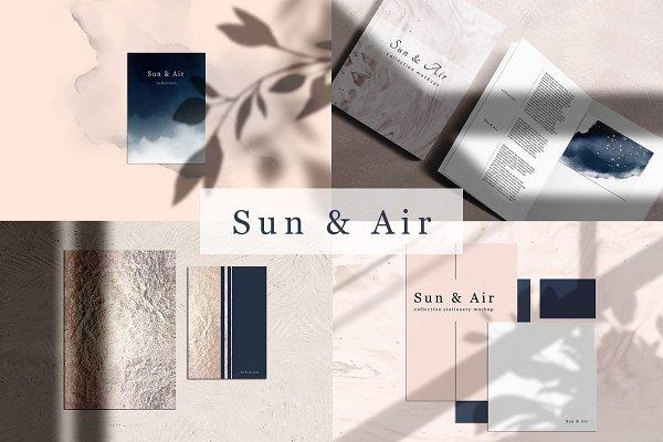 Mockup Kit - SUN & AIR scene creato…