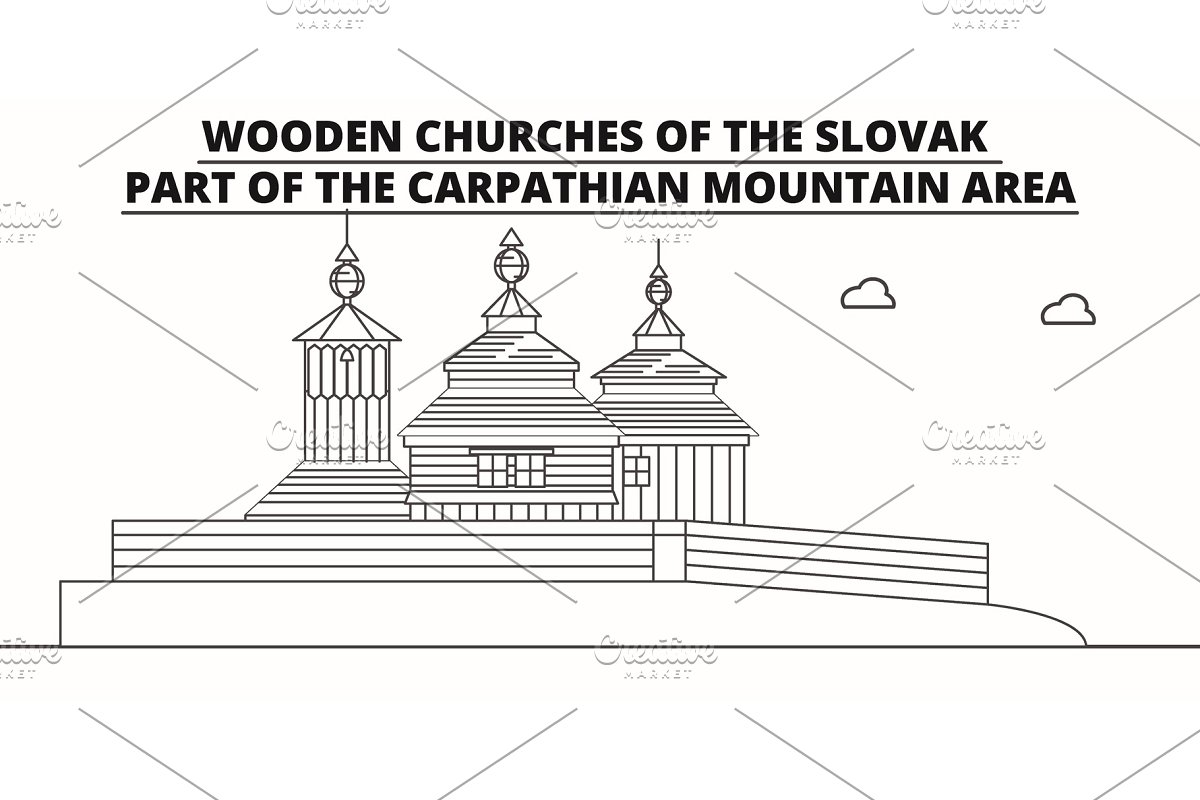 Slovakia Wooden Churches In The