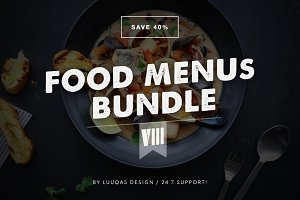 Food Menus Bundle 8