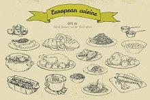 European dishes