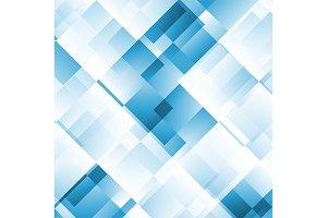technology blue geometric background
