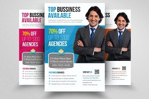 Business Coach Flyer Template