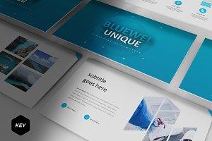 Bluewel - Keynote Template