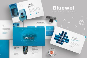 Bluewel - Powerpoint Template
