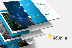 Houdini - Google Slides Template