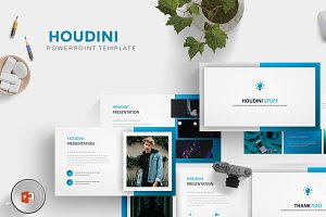 Houdini - Powerpoint Template