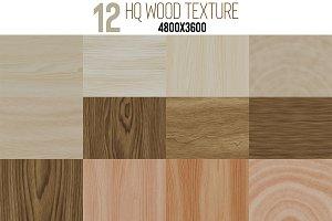 12 HQ Wood Texture Set
