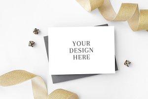 New Year's Holiday Card Mockup