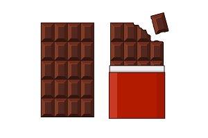 Chocolate Bar Big Set