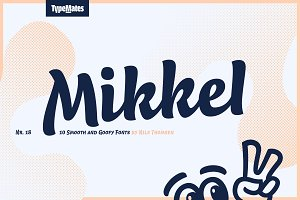 Mikkel Script Black - 50% Offer